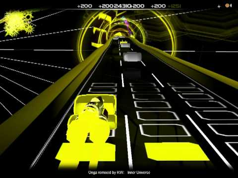 """Audiosurf: """"Inner Universe"""" remix by KW"""