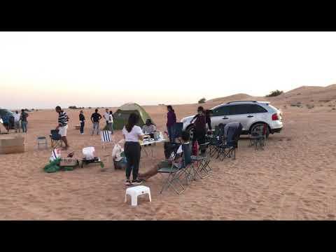 Camping @ Margham Desert Dubai UAE