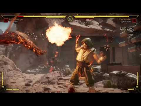 Mk11 Scorpion Fire Breather Gameplay