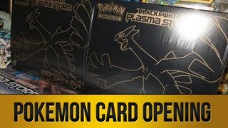 ► Pack Opening | Pokemon Black & White Plasma Storm Elite Trainer Box