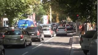 Centrul Chișinăului se sufocă de atâtea mașini