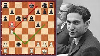 "Mikhail Tal Has A ""Trojan Horse"" For His Opponent"