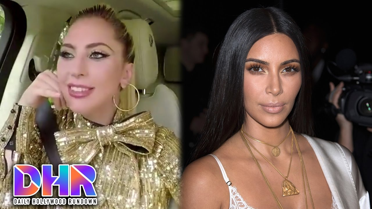 Lady Gaga's Road Rage In Carpool Karaoke - Kim Kardashian Update On Robbery (DHR)