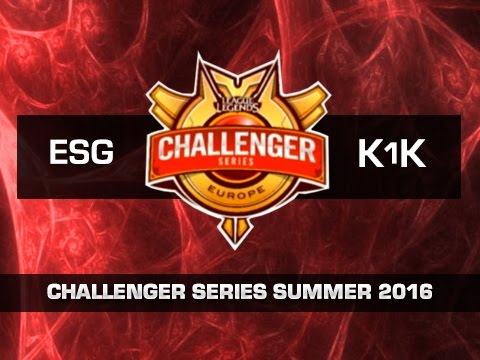 Euronics Gaming vs k1ck Black - Día 5 - Challenger Series EU Summer 2016 - Español
