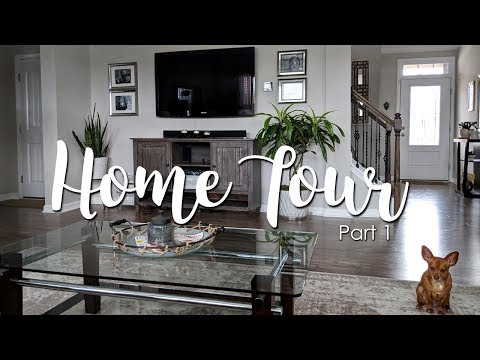 Home Tour Part 1-Thrifted & New Home Decor Styling-Spring 2018