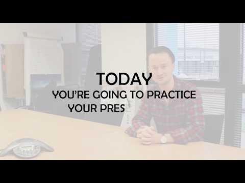 Practice your CEO presentation with JPrep and JPMentors