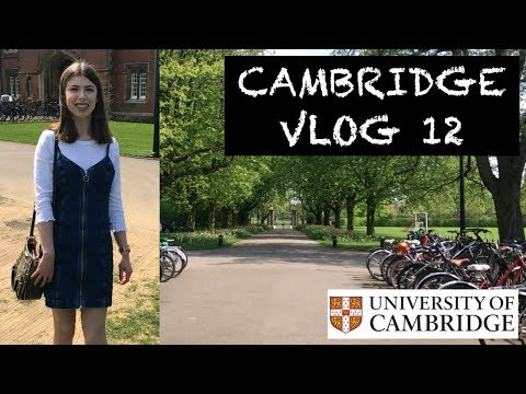 CAMBRIDGE VLOG 12: BACK FOR EXAM TERM!