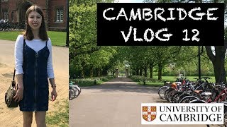 CAMBRIDGE VLOG 12 BACK FOR EXAM TERM