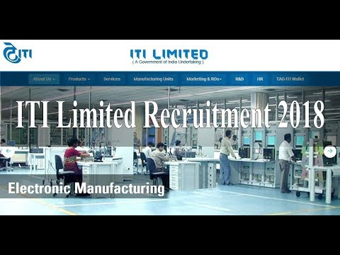Asst Executive Engineer Jobs At Bangalore | ITI Limited Recruitment 2018