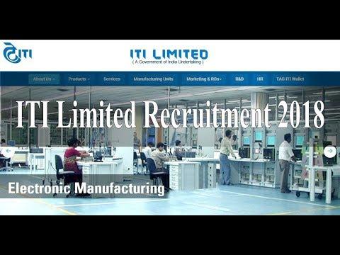 Asst Executive Engineer Jobs At Bangalore | ITI Limited Recruitment 2018