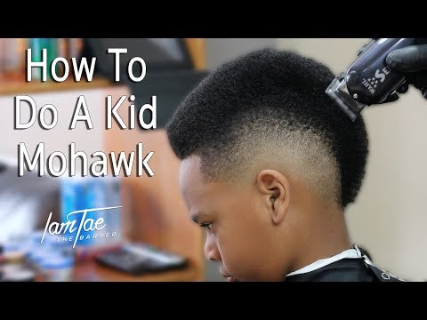 How To Do A Kid Mohawk