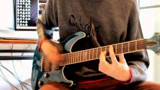 Canon EOS - Riffing with Harmonic chords - ESP LTD H401FM.