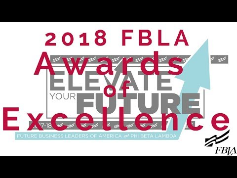 2018 FBLA NLC - Awards Of Excellence Ceremony