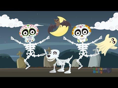 💀 Las Calaveras 💀 Salen De Su Tumba, CHUMBALA CACHUMBALA - Canciones Infantiles de Halloween