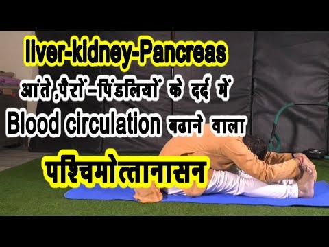 liver-kidney-pancreas-पैरों-पिंडलियों-में-blood-circulation-को-बढ़ाने-वाला-पश्चिमोत्तानासन||मोटापा||