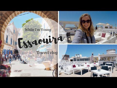 ESSAOUIRA, MOROCCO TRAVEL VLOG | While I'm Young