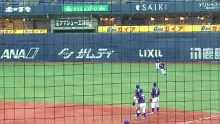 パナソニック シートノック(第43回社会人野球日本選手権大会_171110)