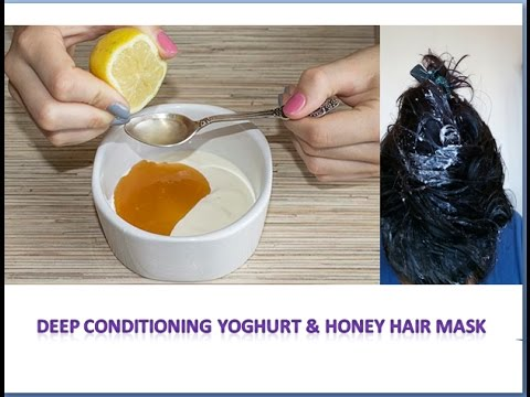 Deep Conditioning Yogurt Honey Hair Mask Stay Beautiful With Anky