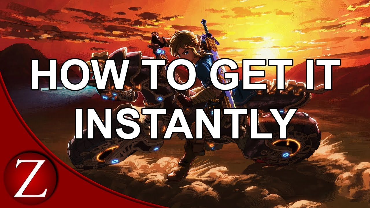 How To Get The Master Cycle Instantly The Legend Of Zelda