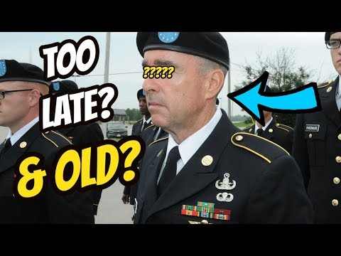 TOP 4 FACTS About Joining The ARMY & Other MILITARY BRANCH At An OLDER AGE