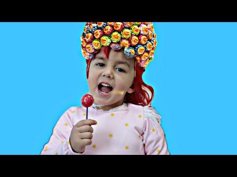 تسريحة جميلة للشعر Hairstyle Chupa Chups Lollipops