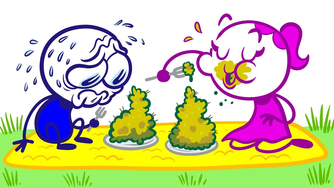 a-disgusting-picnic-for-pencilmate-in-a-cawtionary-tale-pencilmation-cartoons-for-kids