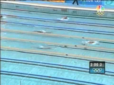 Mens 400m I.M | Athens 2004 | Michael Phelps gold