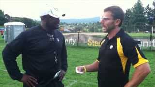 STEELERS COACH MIKE TOMLIN & PITTSBURGH DAD