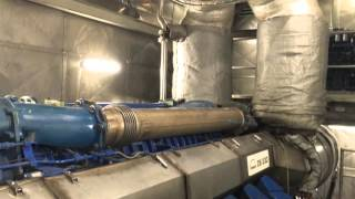 High Speed Ferry Cat Express 1 Engine room Largest Diesel Powered Catamaran in the world!