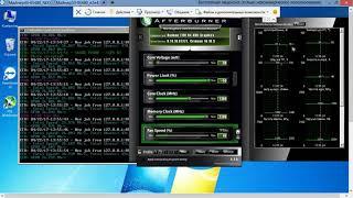Майнинг на видеокарте HIS Radeon RX 480 IceQ X2 OC 8 Гб после разгона и в стоке  Майнинг эфириума