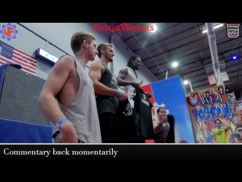 National Ninja League Qualifier Pro Division @  The Warrior Factory