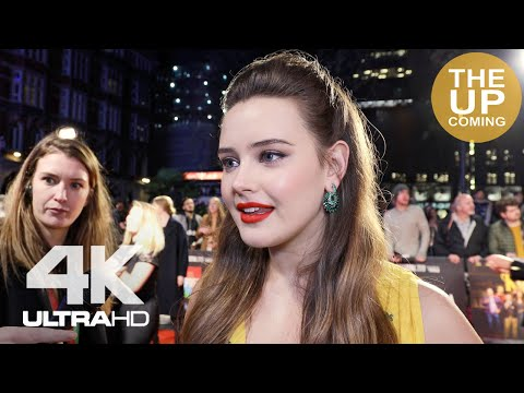 Katherine Langford on Knives Out, Agatha Christie at London Film Festival premiere interview