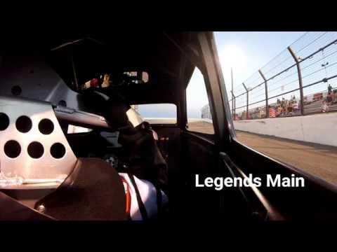 INEX Legend - In Car - July 22nd 2017 Montana Raceway Park  - #1 Adam Street