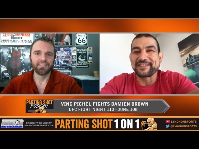 "UFC Fight Night 110's Vinc Pichel ""I'm going to knock out Damien Brown in the 2nd round"""