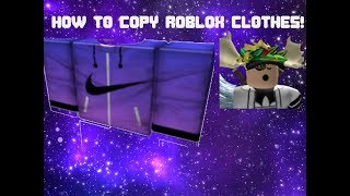 HOW TO STEAL CLOTHES ON ROBLOX 2018