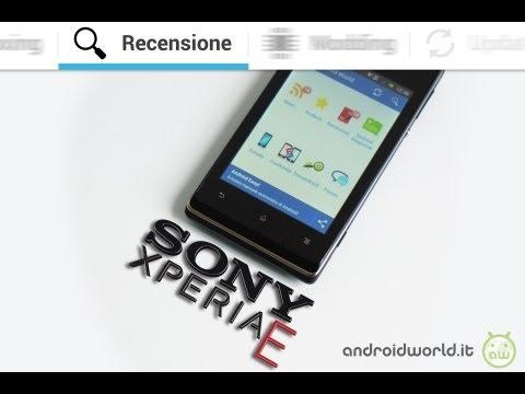 Sony Xperia E, la recensione completa in italiano by AndroidWorld.it