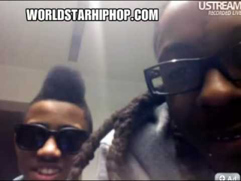 Lil Wayne U Streamin With Lil Twist,Goes In On A Guy Named