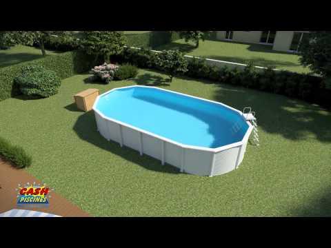 installation d 39 une piscine hors sol gr doovi. Black Bedroom Furniture Sets. Home Design Ideas