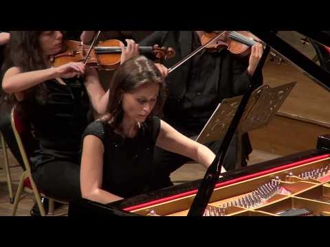 Irina Lankova, Chopin Piano Concerto No.1 in E minor Op.11, concert trailer 10 May 2016