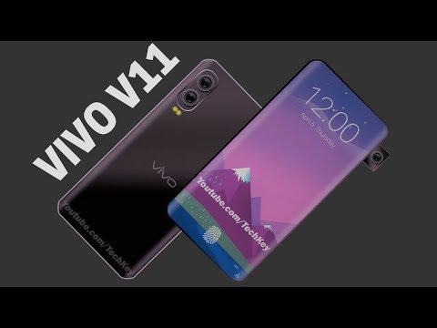 Vivo V11 - 28MP Front Camera, Under-Display Fingerprint Scanner, 6GB RAM, Android P 9.0 (Concept)