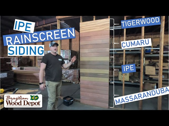Ultimate Guide to Ipe Siding! (AND 3 Other BHW Alternatives; Cumaru, Massaranduba AND Tigerwood)