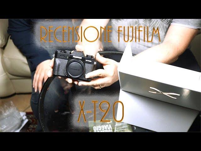 Recensione Fujifilm X-T20