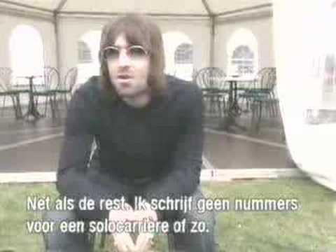 Liam Gallagher  @ Pinkpop 2000 1
