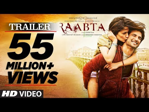 Raabta Official Trailer |  Sushant Singh...