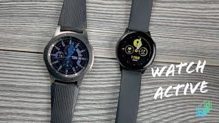 Samsung Galaxy Watch Active Recenzja Idealny prezent komunijny? | Robert Nawrowski
