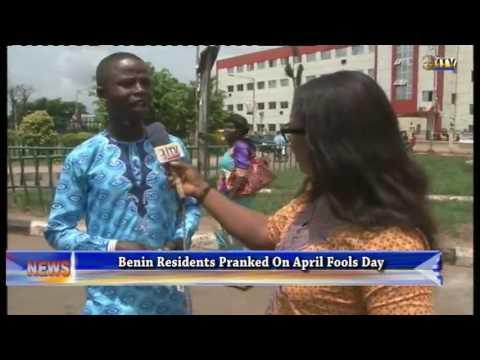 Benin residents pranked on April fools day