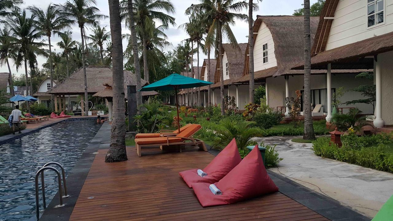 Oceano Jambuluwuk Resort Gili Trawangan Lombok Youtube