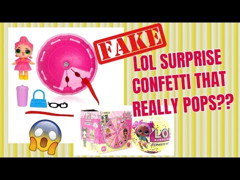 fake-lol-surprise-confetti-that-really-pops??-fake-vs-real-lol-surprise-doll