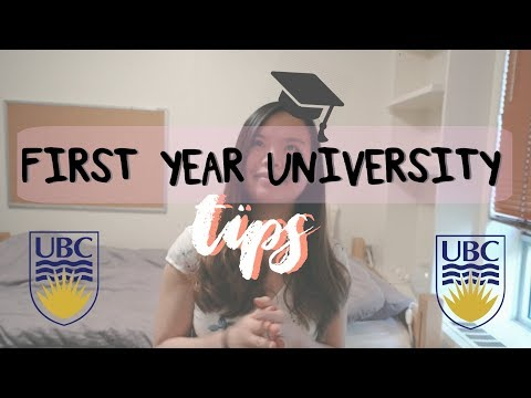 UBC First Year Tips & Advice! | All About University