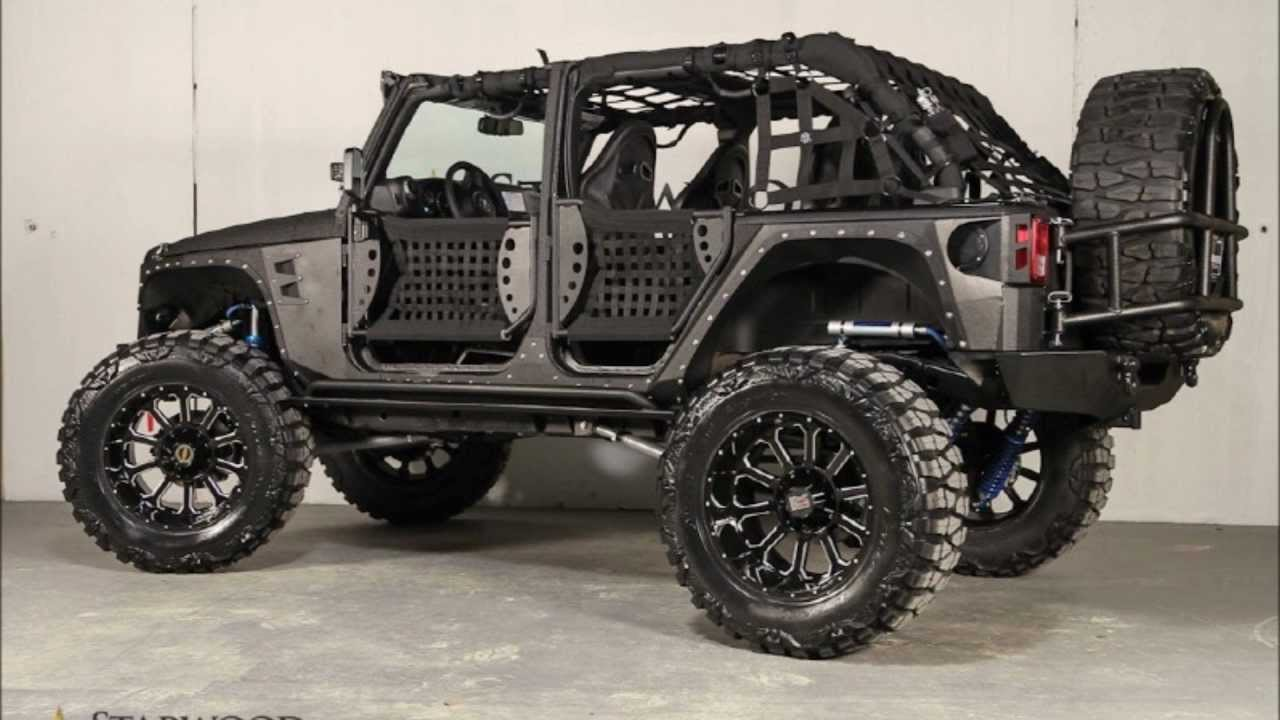 2013 jeep wrangler unlimited full metal jacket by starwood custom for sale youtube. Black Bedroom Furniture Sets. Home Design Ideas